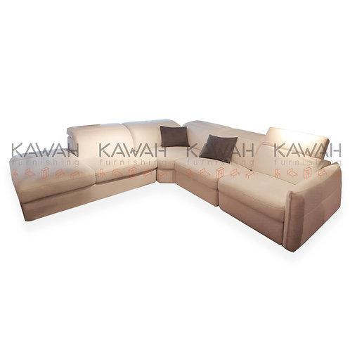 Robson Belgium Fabric Sofa Corner Shape