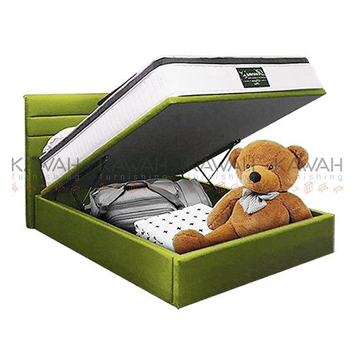 Greenzara Queen Size Storage Bed Frame