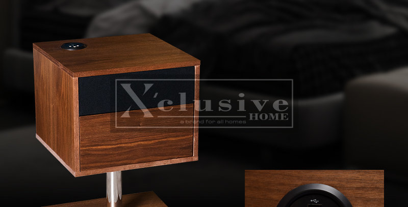 Wooden Functional Side Table