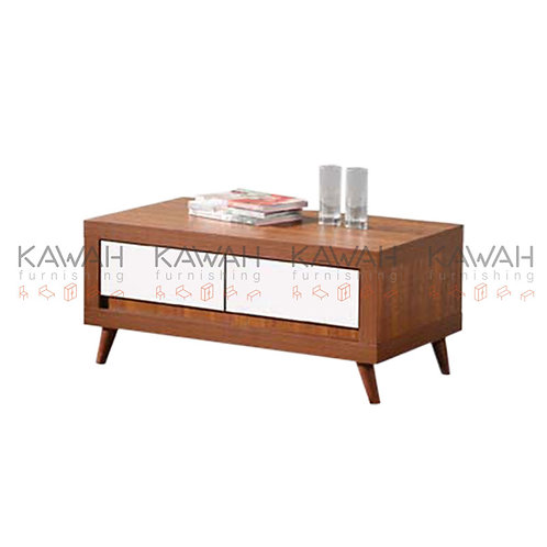 Kerry Wooden Coffee Table with Drawers