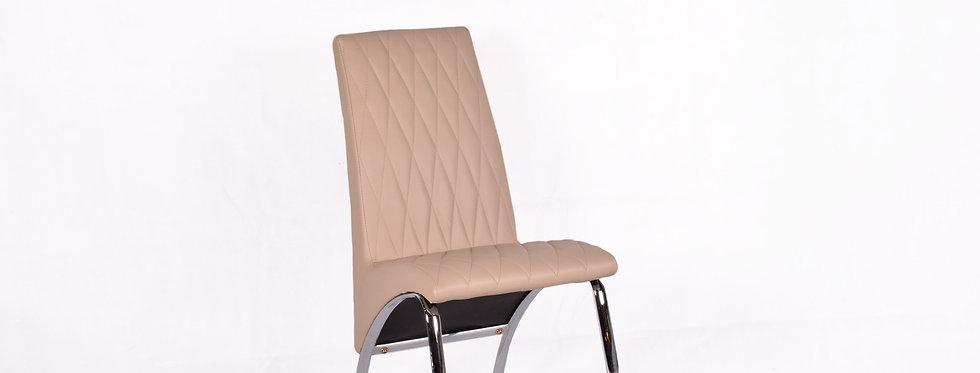 X_DC007 Designer Dining Chair Khaki