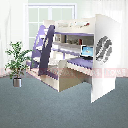 Jr-Cleva Children Bunk Bed