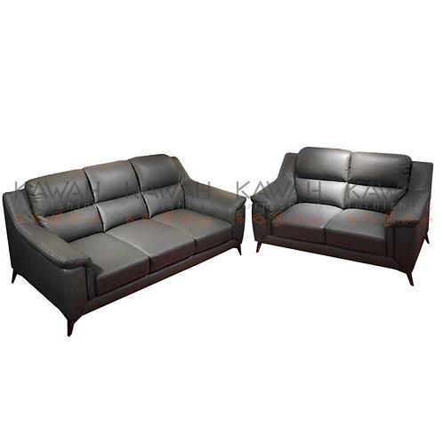 Marshall Italian Half Leather Sofa 3+2 Set
