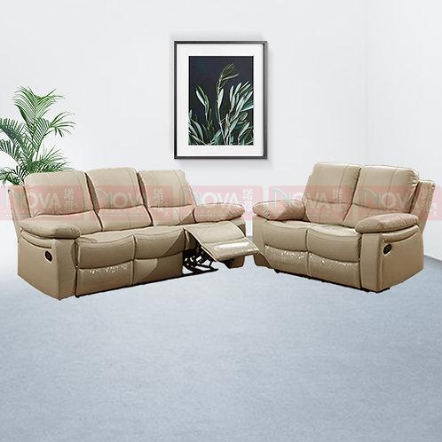 Seren Leather Sofa Recliner 3+2