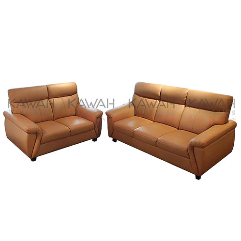 Malan Genuine Cowhide Half Leather Sofa 3+2 Set