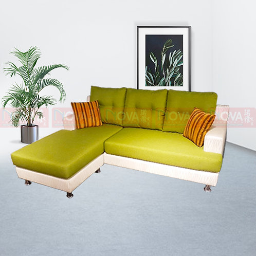 Sher Fabric Sofa L-Shape