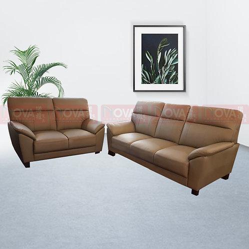 Maude Leather Sofa 3+2 Seater