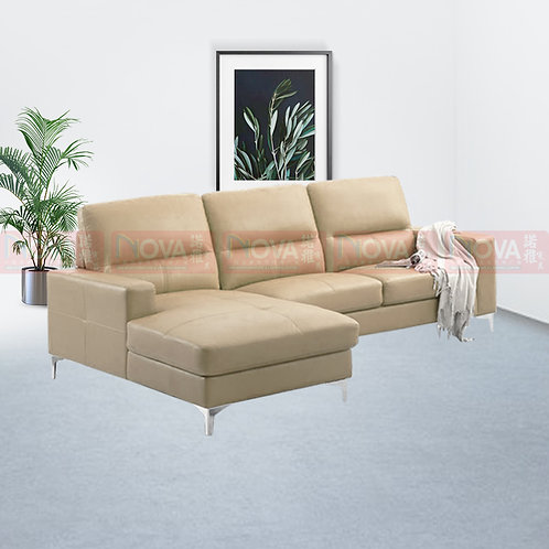 Tana Leather Sofa L-Shape