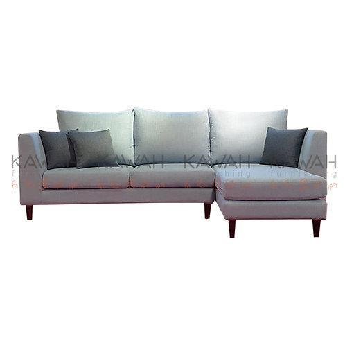 Amari Belgium Fabric Sofa 9 Multi Purpose Grey