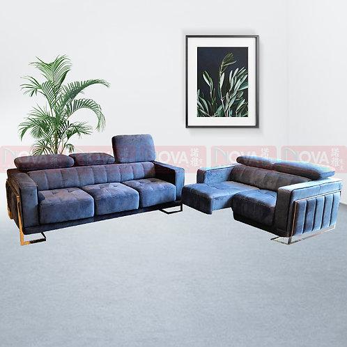 Sherman Fabric Sofa 3+2