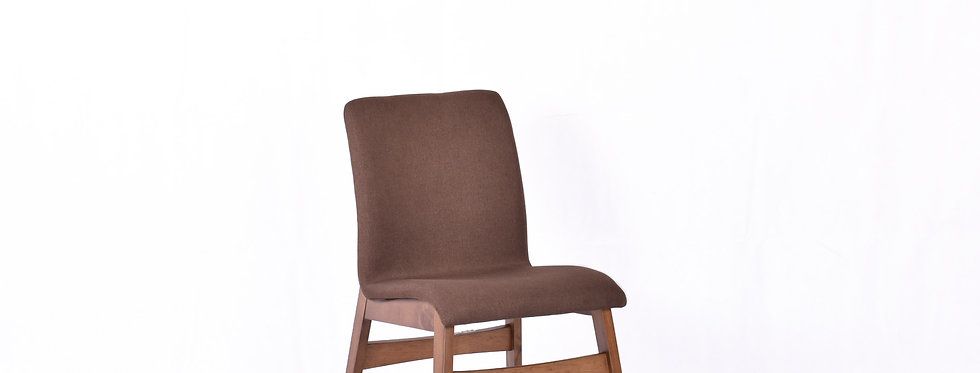 X_DC0016 Fabric Seat Wooden Chair