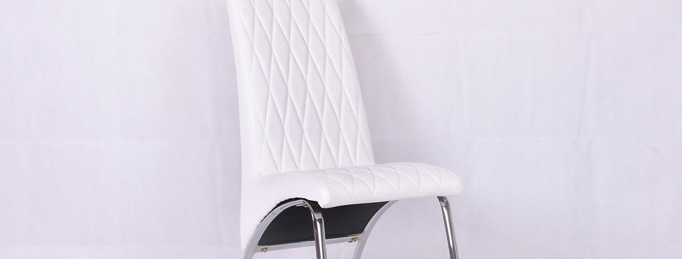 X_DC008 Designer Dining Chair White