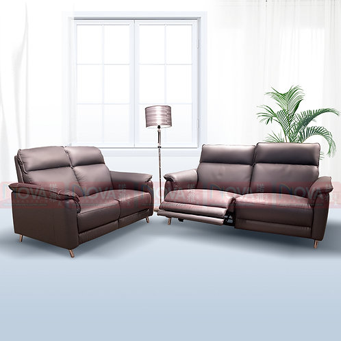 Samuel Full Leather Sofa Recliner​​​​​​​