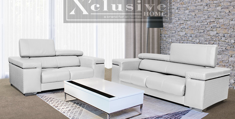 Avana Italian Leather Sofa 3+2 Set