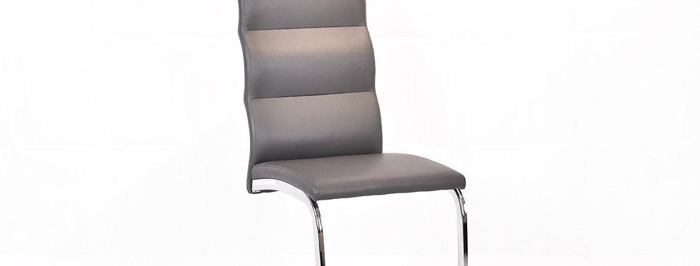 X_DC0025 Dining Chair Dark Grey