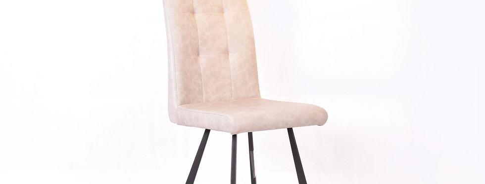 X_DC0015 Designer Dining Chair Light Grey