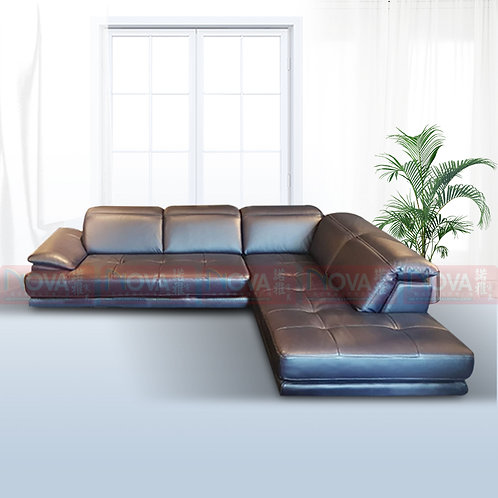 Nerina Classic Leather Sofa