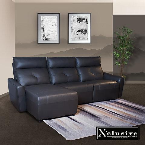 Full Leather Sofa Living Room Furniture X Clusivehome Singapore