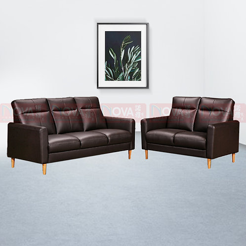 Asiya Leather Sofa 3+2 Seater