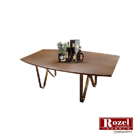 Amelie Wooden Coffee Table Rozel Furnishing Singapore