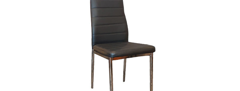 X_DC0014 Designer Dining Chair Black