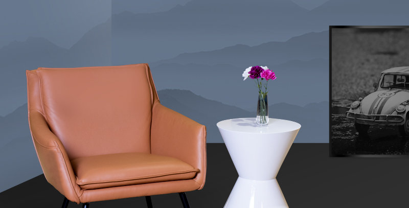 Kasey Leather Sofa