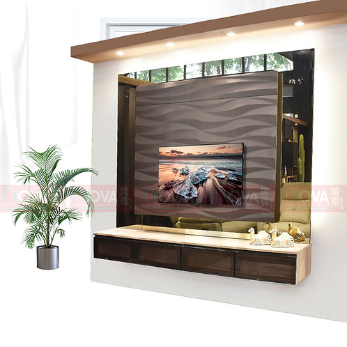Shirley TV Feature Wall