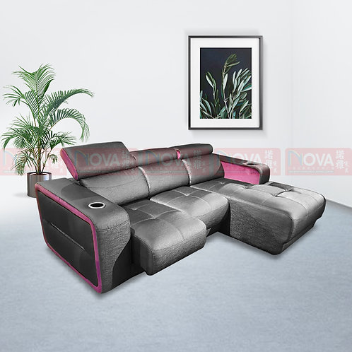 Dev PU Leather Sofa