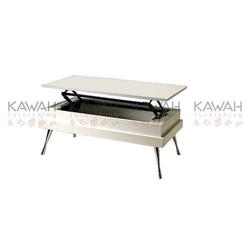 Grind Functional White Coffee Table