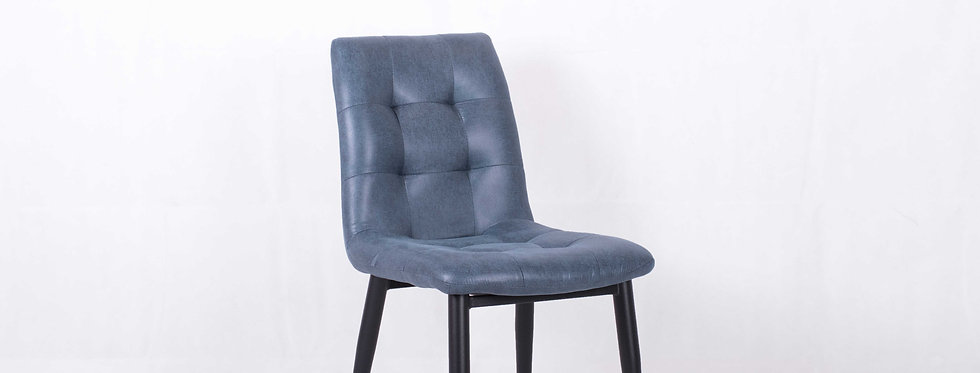X_DC0010 Designer Dining Chair Blue