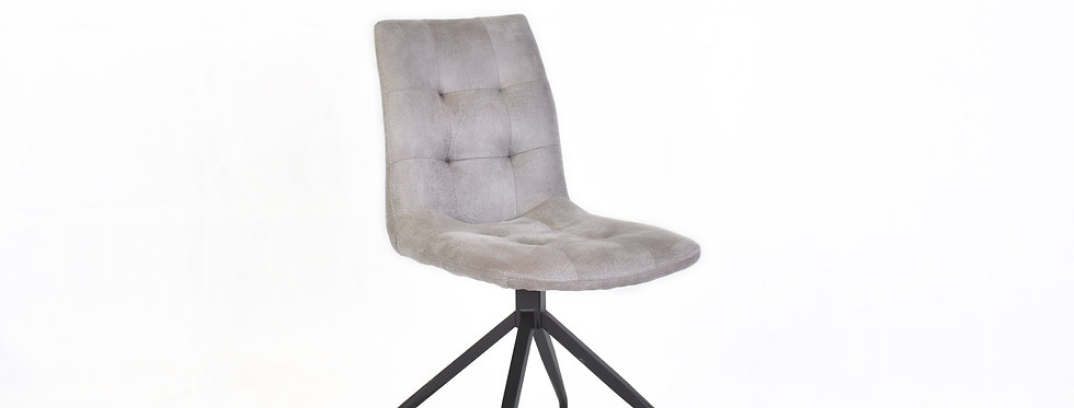 X_DC0017 Designer Dining Chair Light Grey