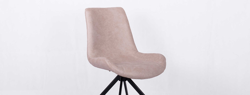 X_DC0012 Designer Dining Chair Light Grey