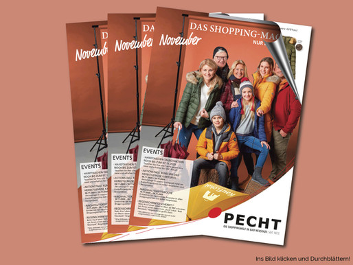 Das Shopping Magazin - November