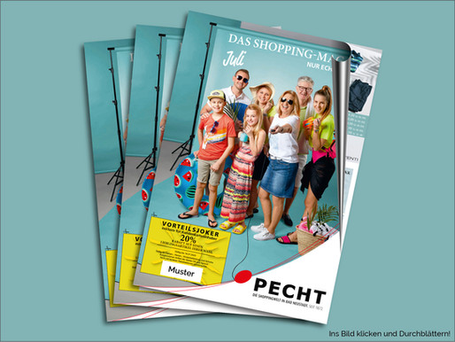 Das Shopping Magazin - Juli