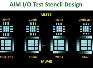 Aperture Design to Minimize QFN Voiding
