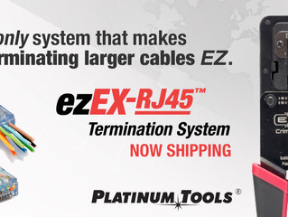 The new ezEX-RJ45™ Termination System