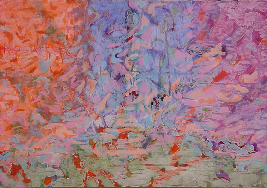 Expansive Spring II, a painting by Cassandra Jennings Hall