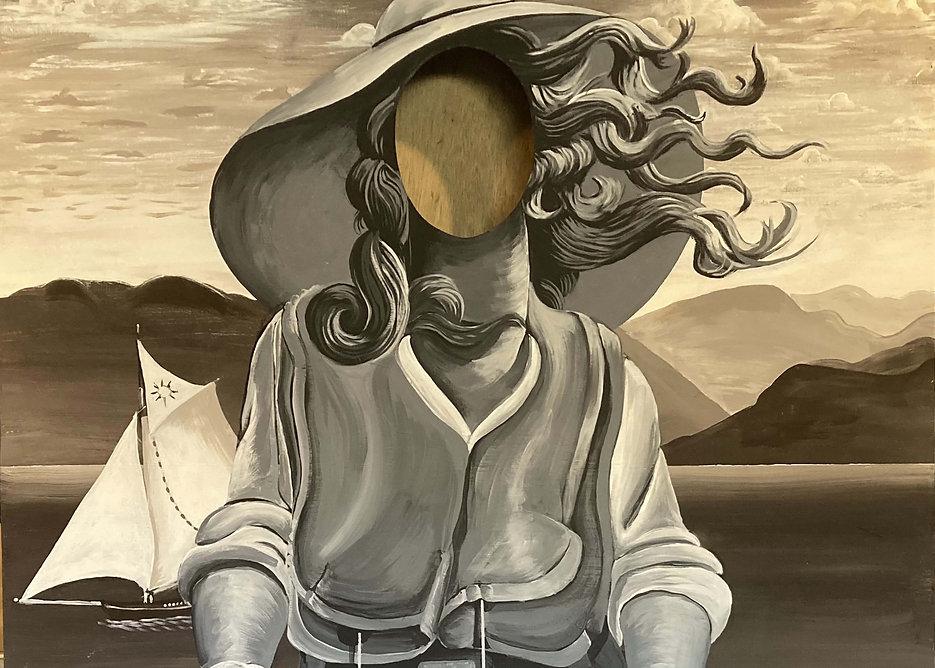 Virginia Woolf by Carla Rae Johnson