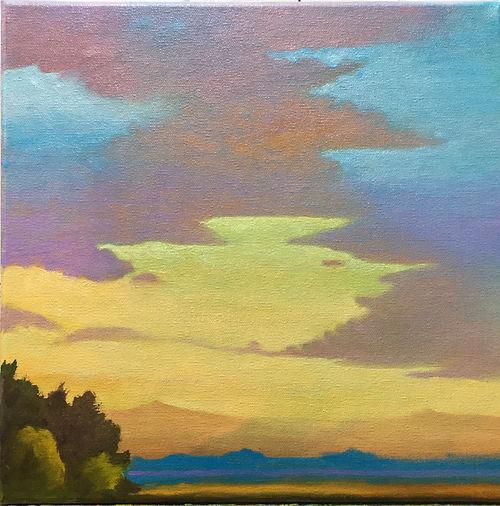 #24 Transcending Spirit, a painting by Susan Miiller