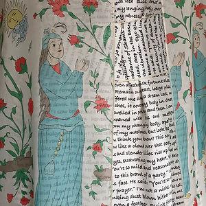 Talismanic Gown by Nazanin Hedayat Munroe