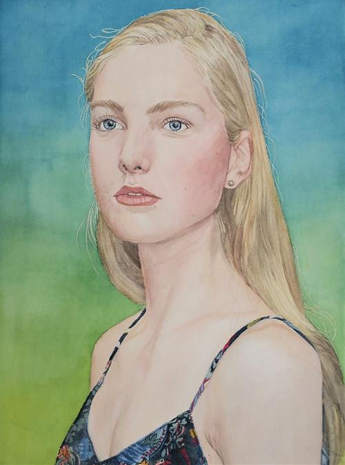 Aurora, a painting by Aki Kano