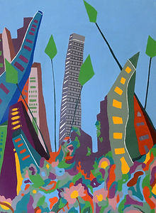 oxossi urbano by Luz Castaneda