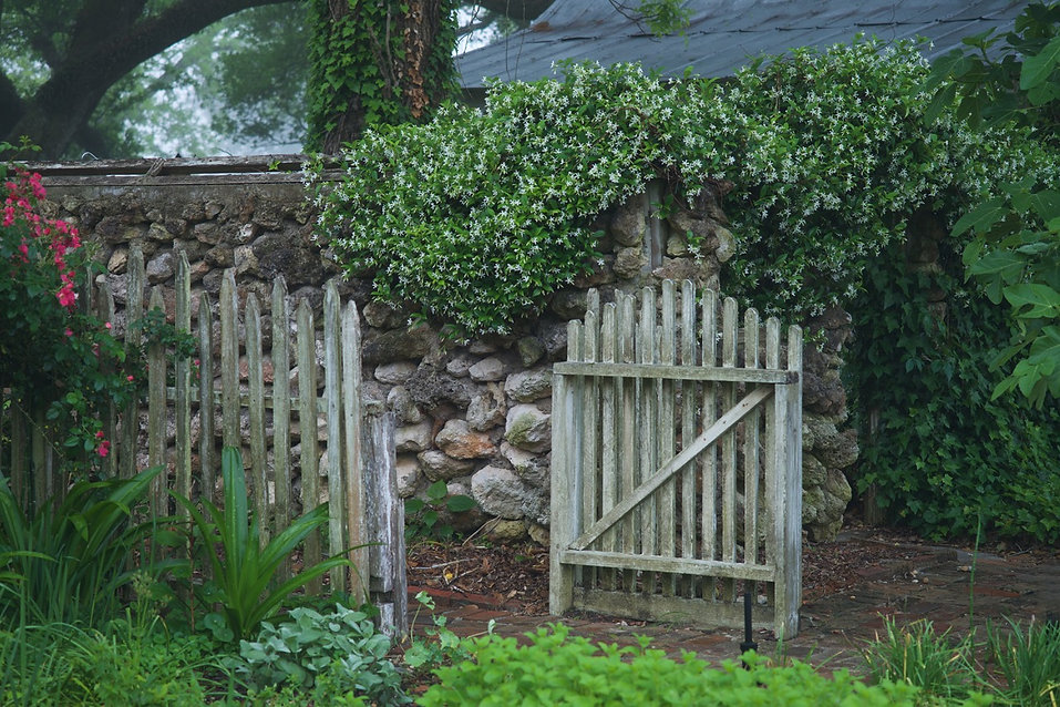 Garden Wall and Gate 2