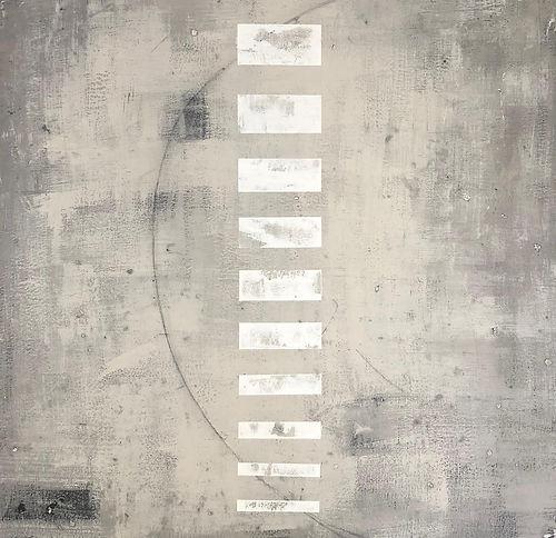 #18 Slate, a painting by Shira Toren