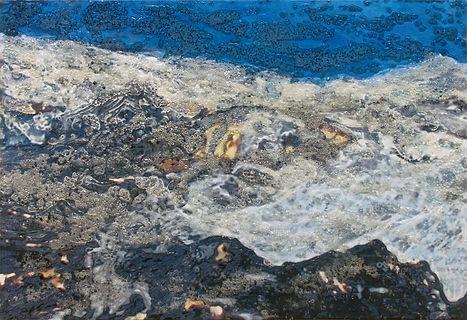 Glacial Flow by Rosalind Schneider