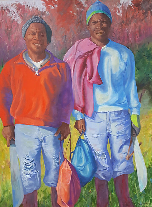 Whyte & Vincent, a painting by Barbara Masterson