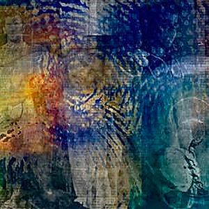 an untitled digital collage by Kenneth Sean Golden