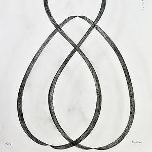 Bibi Buddha, a drawing by Erla Thórarinsdottir
