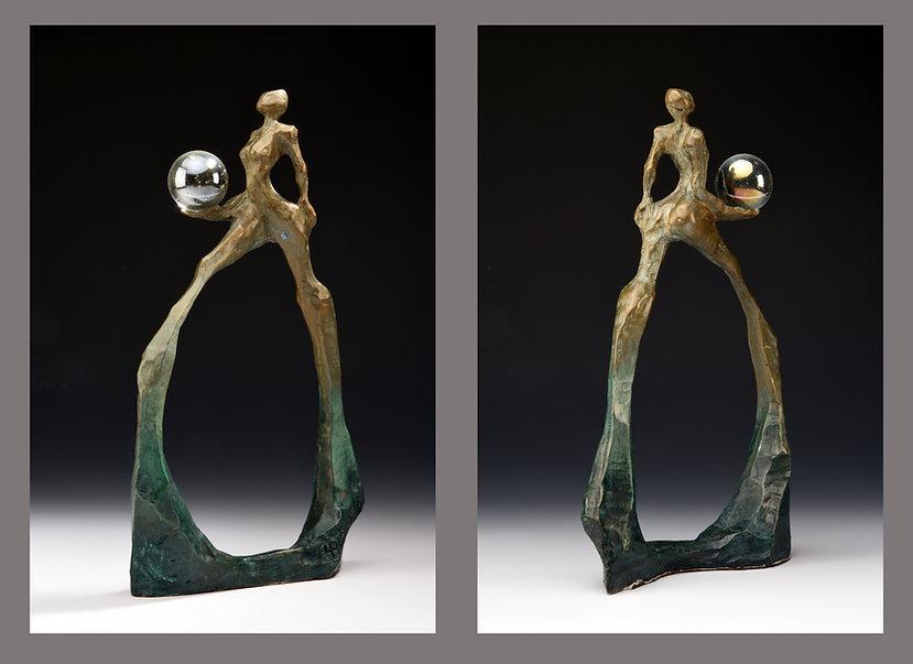Strutt, a sculpture by Harriet Forman Barrett