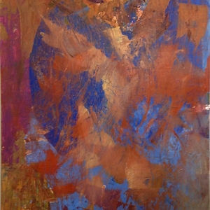 Copper Canyon, a painting by Aisla Islava
